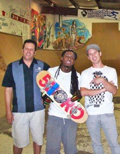 Joe and Lil' Wayne at Skate School