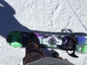 Never Summer Funslinger on the snow