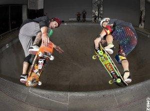 Lonny and Christian Hosoi