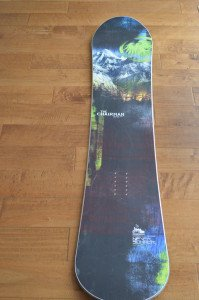 Never Summer Chairman Snowboard 2016