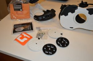 union ultra snowboard bindings components