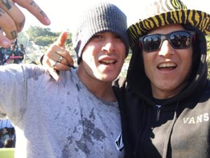 Hosoi and Pedro Barros