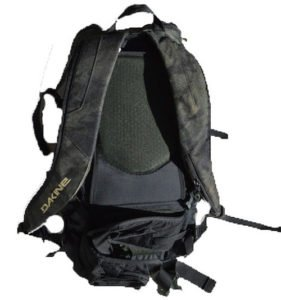 Dakine DLX Heli Pro 24L backpack straps