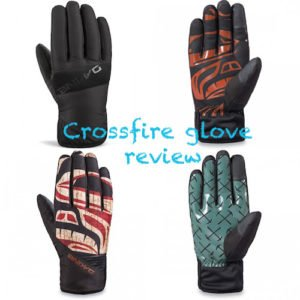 dakine crossfire gloves palm and tops