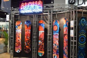 Aloha snowboards and Bent Metal Bindings 2018 Gear Preview