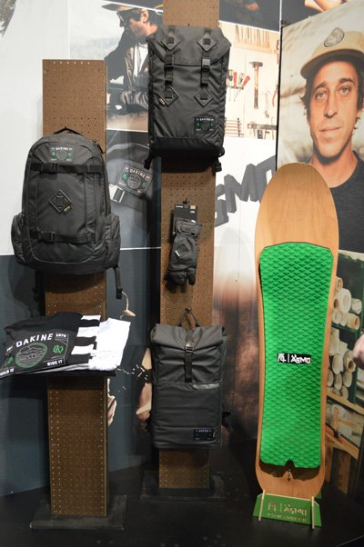 Dakine Snow Gear and the Asmo collection for rider Wolle Nyvelt
