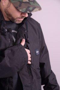 thirtytwo kaldwell jacket front exterior pocket
