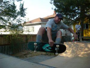 Dave Van Etten frontside air