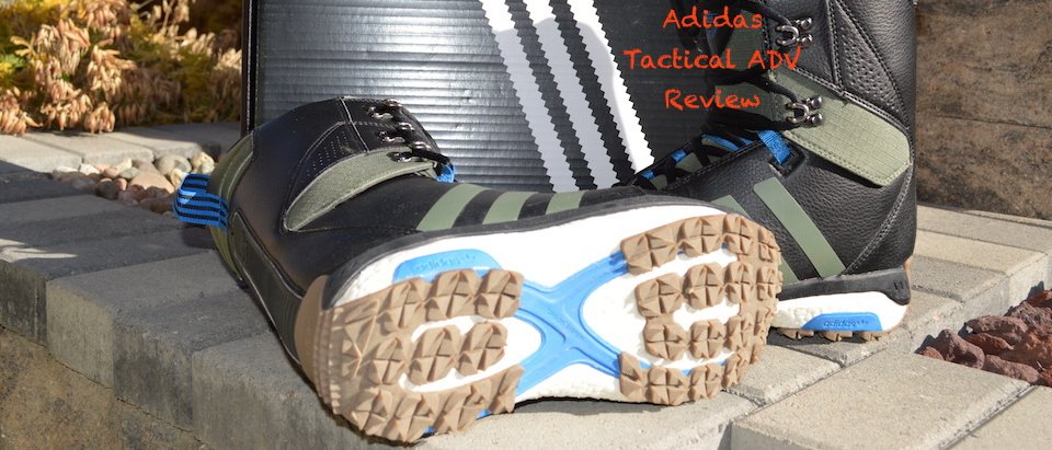 Adidas Tactical ADV Snowboard Boot Review