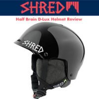 Shred Half Brain D-Lux Helmet Review