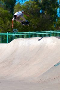 Wrex Cook backside ollie