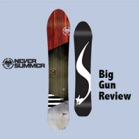 Never Summer Snowboards Big Gun Review