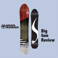 Never Summer Snowboards Big Gun Review