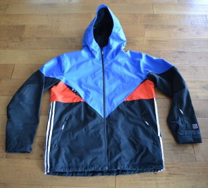 adidas premiere riding jacket review front of jacket