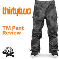 ThirtyTwo TM Pant
