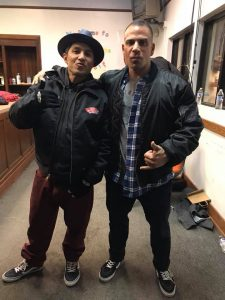 Bill Tocco and Christian Hosoi