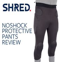 SHRED NOSHOCK Protective Pants Review