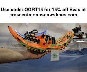 15% off with OGRT15 at crescentmoonsnowshoes.com