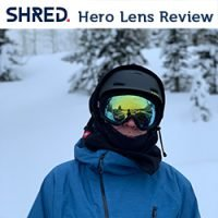SHRED CBL Hero Mirror Lens