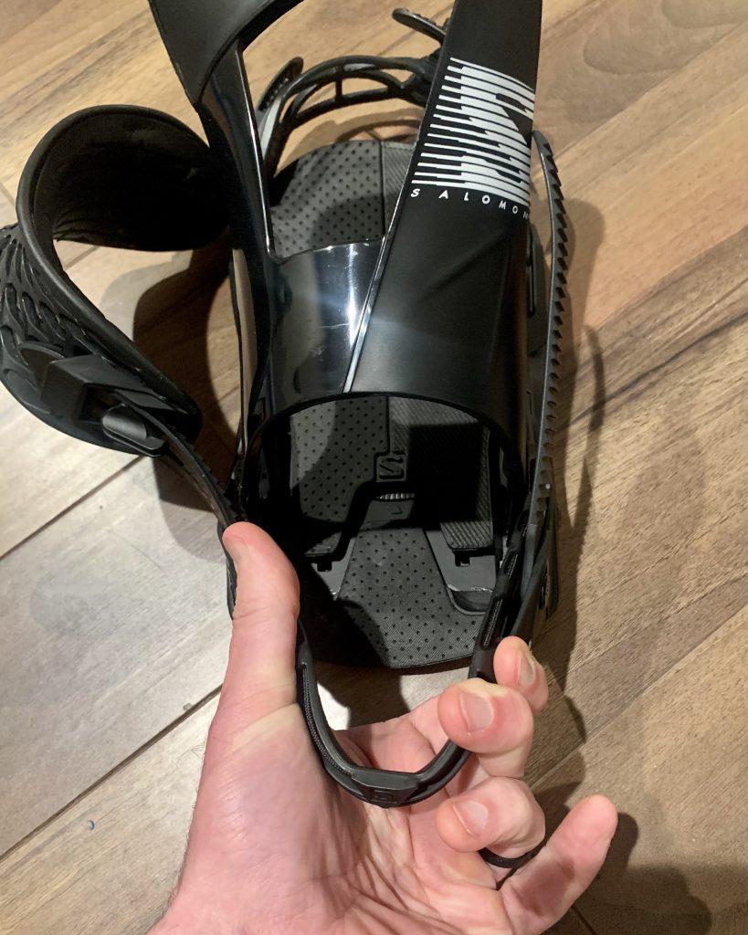 Salomon Hologram Binding soft heelcup